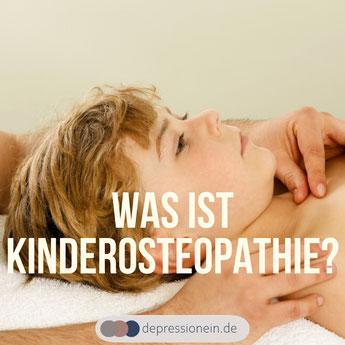 Kinderosteopathie - DepressioNein für mehr Gesundheit und Gelassenheit im Leben