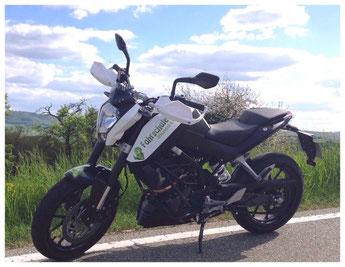Bild: KTM Duke 125ccm  Motorradführerschein Klasse A