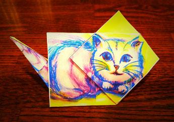 のら猫 / Stray cat, designed by Hideaki YOSHIZAWA