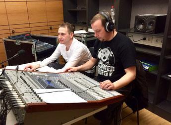 Thomas & Jörg bei der Arbeit