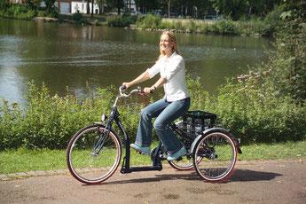 Pfau-Tec Classic Dreirad Elektro-Dreirad