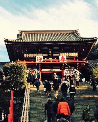 鶴岡八幡宮(平成27.1.2)