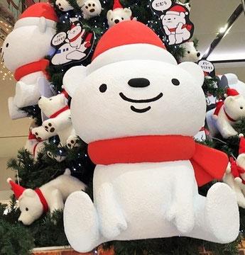 鹿児島空港のクリスマスツリー