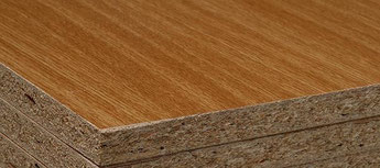 Truciolare rivestito: è il materiale comunemete usato nella produzione industriale di mobili.