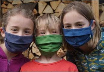 Gesichtsmaske aus Kenia, ein hochwertiges Fair-Trade-Produkt in Bio-Qualität & 2te Maske für Kenia