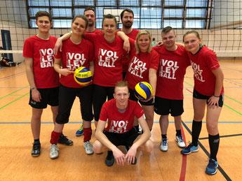 Mixed-Volleyballteam von GSBV Halle/S.