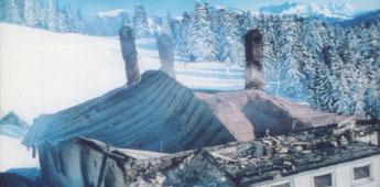Nach dem Brand im Januar 1980