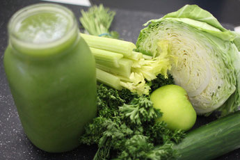 Gemüse, green smoothie