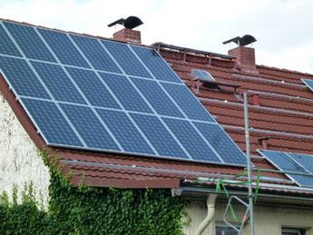 Feuerwehr und Solaranlagen