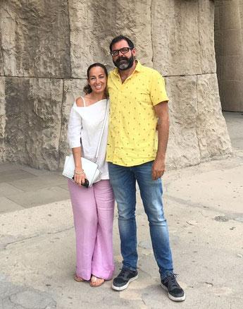 LUANA Y JAIME. VISITAS GUIADAS EN BARCELONA