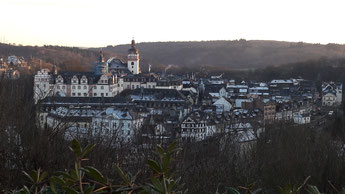Eine schöner Ausblick über die Stadt