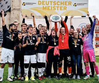 Deutscher Meister FC St. Pauli Blindenfußball
