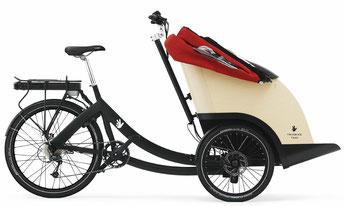 Triobike Taxi Lasten e-Bike / Cargo e-Bike 2019
