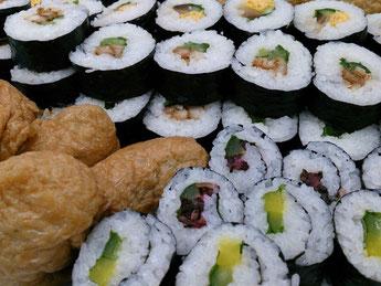 巻寿司・いなりの盛合せ