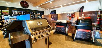 Im Marks Grillhaus in Schleswig findest Du u.a. Gasgrills, Kolhegrills, Elektrogrills