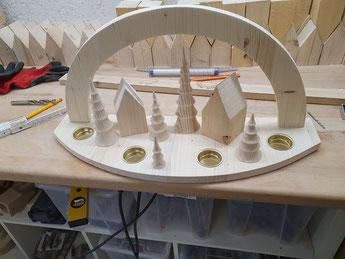 Prototyp neuer Schwibbogen (Foto D. Mohr)