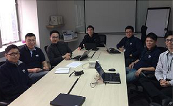 Our Hong Kong team working on the project