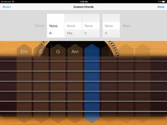 Smart Guitar view