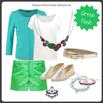 """Outfit für den Frühlingstypen, einen blonden Sommer oder """"light"""""""