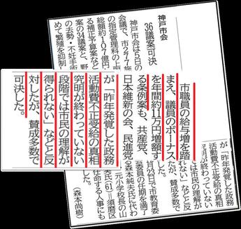 12月6日神戸新聞より