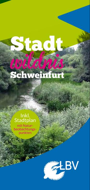 Stadt Wildnis Schweinfurt Flyer Seite 1