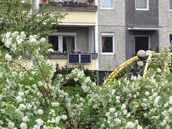 Jeder Balkon kann zum Solarpark werden.