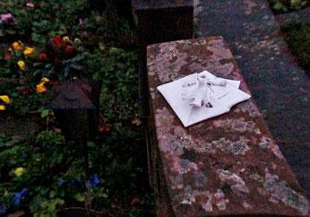 18. Dezember 2014 - In düsteren Stunden - Brief an den Verstorbenen