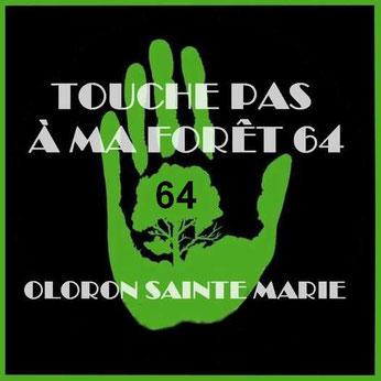 """Collectif """"Touche Pas à Ma Forêt 64 - Marche contre FLORIAN à Oloron Sainte Marie par ACCOB"""