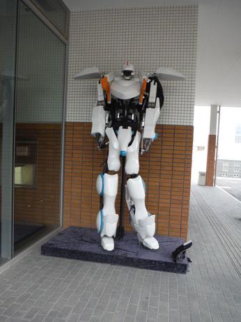 変なホテルはロボットがお出迎え