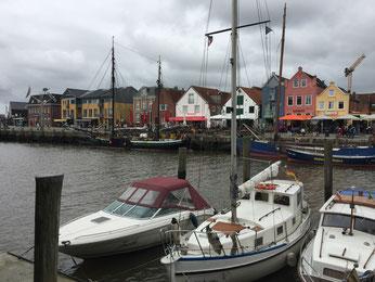 Hafen Husum Auszeit Ferienwohnung beachtenswert fotografie