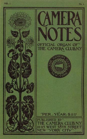 『カメラ・ノート』Vol.1 No.4(1898年)