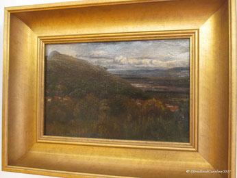Clermont-Ferrand vue depuis Royat, 1836, Paul HUET
