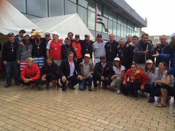 Photo de groupe championnat de France Dinard 2015