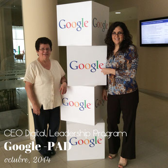 Tejiendo Perú en el CEO Leadership Digital Program de Google y PAD en Lima, Perú