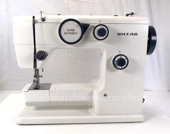 Riccar 1528 Automatic Freiarm Automatik-Haushaltsnähmaschine, Hersteller: Riccar, Japan (Bilder: Nähmaschinenverzeichnis)