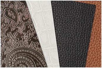 Переплетные материалы отличаются цветом, текстурой, узором