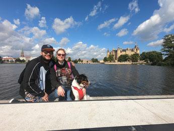 Vacaciones familiares de fin de semana en Schwerin.