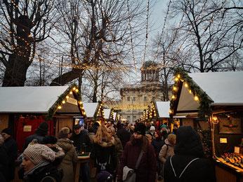 Mercado navideño de Charlottenburg, Berlín.
