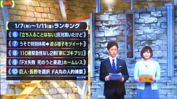 野球居酒屋 メディア情報 サンデーステーション-1