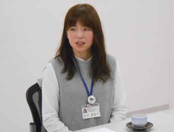舞川地域課題対策協議会  地域協働推進員 吉田真梨子さん