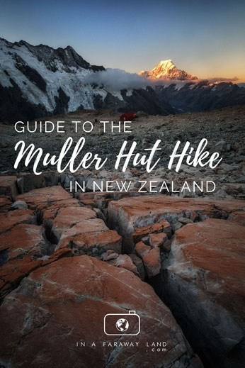 Everything you need to know about hiking and staying in the Mueller hut in Mount Cook National Park in New Zealand. #NewZealand #Hiking #Travel