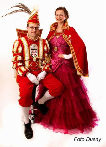 2015 Prinz Christian Grobe I. Prinzessin Ricarda Kroll I.