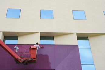 zu den Referenzen der Fassadenarbeiten...