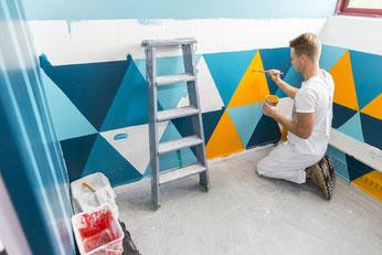 zu den Referenzen der Malerarbeiten...