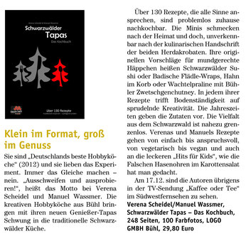 Eulenbrief Herbst 2014 (Buchhandlung Straß, Baden-Baden)