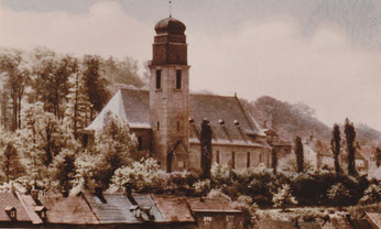 st. hubertuskirche jägersfreude, 1928