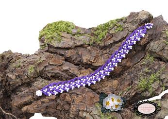 bracelets coton crochetés à la main, collection Aerin