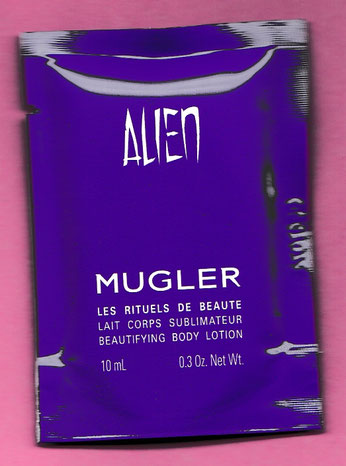 ALIEN - ECHANTILLON LAIT CORPS SUBLIMATEUR 10 ML