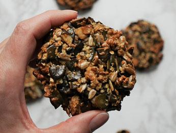 Kürbiskern-Cookies