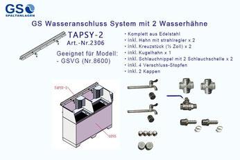 TAPSY-2 (Nr.2306)  GS Wasseranschluss